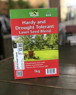 Hardy and Drought Tolerant Lawn Seed Blend