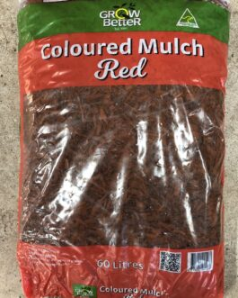 Red Coloured Mulch