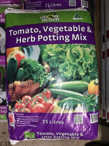 Tomato vegetable and herb